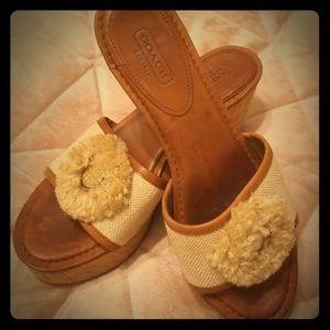 AUTHENTIC Coach sandals